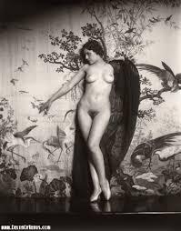 Vintage 1920s Nude Ziegfeld Girl Sepia Pinterest Ziegfeld.