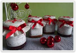 Decorated Jam Jars For Christmas Crafty Christmas Club Embroidered Jam Pot Covers 68