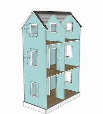 american girl doll house plans. American Girl Doll House Plans New Ana White