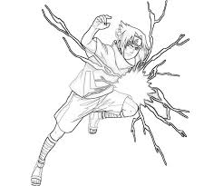 Naruto And Sasuke Coloring Pages High Quality Coloring Pages