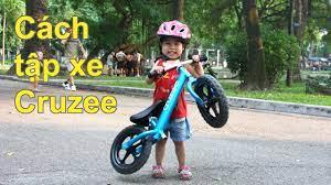 Hướng dẫn cách tập Xe thăng bằng Cruzee cho bé [www.cruzee.vn] - YouTube