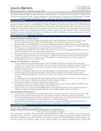 Sample Resume Of Senior Business Development Manager Archives Onda