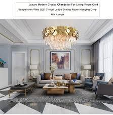 Gold Dining Room Set Luxury Luxus Moderne Kronleuchter