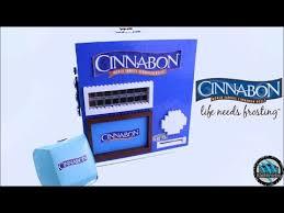 Vending Machine Cinnamon Roll Delectable LEGO Cinnabon Machine Cinnamon Rolls YouTube