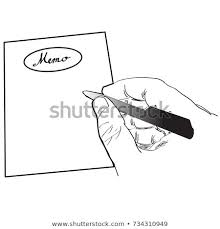 Blank Memo Pattern Background Stock Vector Royalty Free