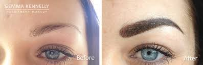 bination eyebrows permanent makeup manchester