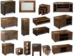 Dakota E Shape Cube Shelf Mango Wood Shelving