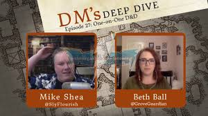DM's Deep Dive 27 - One-on-One D&D wIth Beth Ball! - YouTube