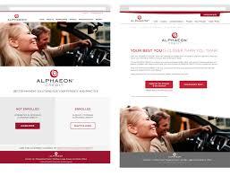 alphaeon collateral client definitive a role art director designer photo editor portland customer dinner