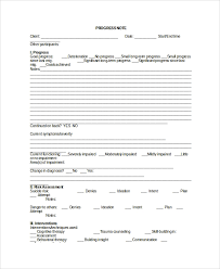 Sample Therapy Note Template 5 Free Documents Download In