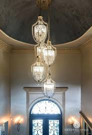 chandelier for entryway foyer rustic lighting high ceiling