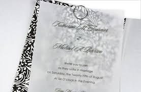 Black And White Invitation Paper 5 Vellum Wedding Invitation Ideas You Can Do Wedding
