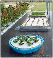 how to build a hydroponic garden. you can use a variety of containers to build your floating garden, including plastic play pools and lined raised beds. how hydroponic garden o