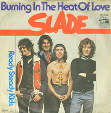 Uk Singles Chart 1977 Slade Burning In The Heat Of Love The Slade Discography