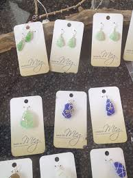 local sea glass jewelry islands art and book