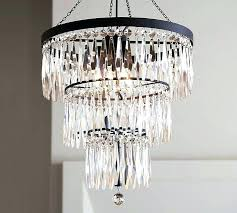 pottery barn rope chandelier chandelier pottery barn crystal large with regard to popular property ideas reviews