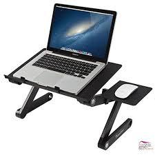portable computer laptop notebook desk folding table mouse holder workstation