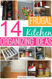 Get your kitchen organized with these and other tips!