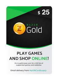 Buy Razer Gold Gift Cards - Digital Email Delivery - MyGiftCardSupply