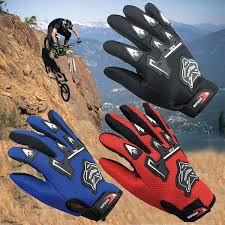 <b>Professional Sport</b> Full Finger Leather <b>Motorcycle Gloves</b> Guantes ...