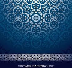 Blue Pattern Background Unique Blue European Pattern Vector Background Free Vector In Encapsulated
