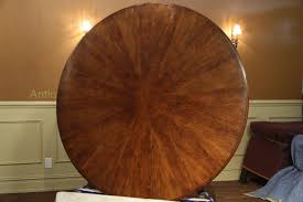 66 Round Dining Table Expandable Round Walnut Dining Table Formal Traditional