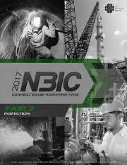 Nbic Part 2 2017 Inspection Pdf Nb 23 2017 National Board