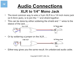 how to er v3 5 audio connections