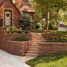 Front Garden Brick Wall Designs Cool Curb Appeal On A Dime Fun Front Doors Pinterest Yard Garden