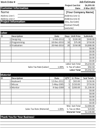 price estimate template 44 free estimate template forms construction repair cleaning