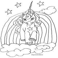 Disegno Da Colorare Unicorno Topcoloratutto Com Con Unicorno Da