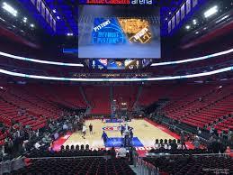 Detroit Pistons Seating Chart Little Caesars Little Caesars Arena Section 116 Detroit Pistons
