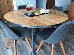 dining room table extendable dining set oak and glass round dining table extendable kitchen table round