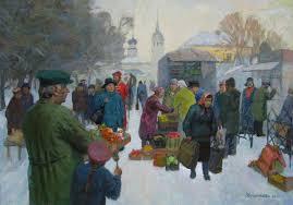 Пейзаж жизни Часть i Моя Планета  Суздальский рынок 2010 дипломная работа Марины Зерщиковой