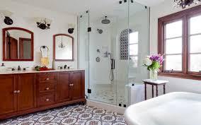 bathroom in spanish. Beautiful Spanish A Spanish Revival Bathroom In LA On In S