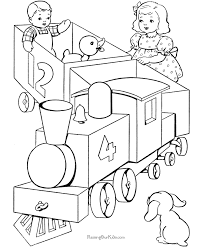 Coloring pages are fun for children of all ages and are a great educational tool that helps children develop fine motor skills, creativity and color recognition! Free Coloring Pages Of Trains Coloring Home