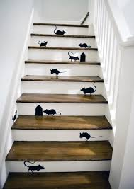 amazing of staircase wall painting ideas 25 brilliant ways to decorate your stairs brit co