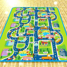 childrens play rug city road carpets for children rug puzzle play mat for children baby carpet childrens play rug