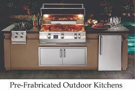 Prefab Outdoor Kitchen Frames Big Ridge Outdoor Kitchens