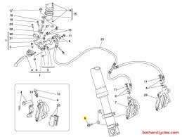 ducati front brake caliper mounting bolts gold superbike 748 748s ducati schematic diagram quantity 4