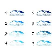 Design Home Solutions Elegant Playful Real Estate Logo Design For Total First