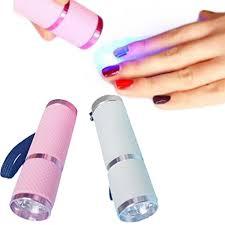 Mini Led Nail Lamp Portable Nail Dryer Manicure Beauty Salon ...