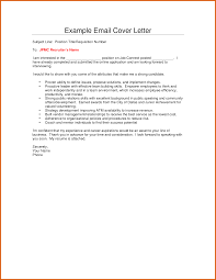 Impressive Resume Cover Letter Via Email Sample With Cover Letters