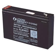 Lithonia Emergency Light Battery Lithonia Lighting 6 Volt Emergency Replacement Battery