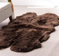 real sheepskin rug large sheepskin rug home decor clean real sheepskin rug