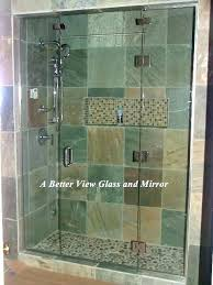 glass shower enclosure cost how to install glass shower door cost sliding glass shower enclosure cost