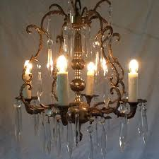 spain made and brass crystal antique brass antique spain in made in chandelier chandelier