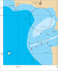 Nautical Chart Numbers Fig 8 27 In This Nautical Chart For A Harbor The Location Of The