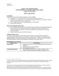 job description for a dentist dental hygienist job description sample recentresumes com