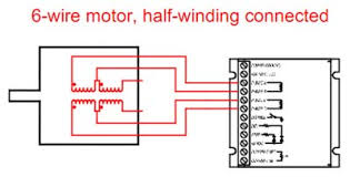 "motor wiring step motor basics support geckodrive figure 9 for a full winding connection as seen in figure 10 the center tap is ignored and both end wires are used the term ""full winding"" is exactly"